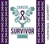 cancer survivor day vector... | Shutterstock .eps vector #642648997