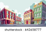 illustration of the historic... | Shutterstock . vector #642658777