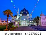 historic mosque of malaysia   Shutterstock . vector #642670321