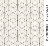 vector seamless pattern. modern ... | Shutterstock .eps vector #642673285