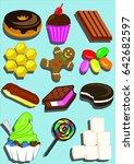 dessert | Shutterstock .eps vector #642682597