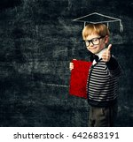 school child education book ... | Shutterstock . vector #642683191