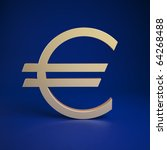 euro currency symbol | Shutterstock . vector #64268488