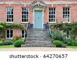 Exterior Of Beautiful Red Brick ...