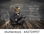 children education  kid read... | Shutterstock . vector #642724957