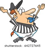 cartoon referee | Shutterstock .eps vector #642727645