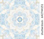 light blue and white geometric... | Shutterstock .eps vector #642744151