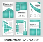 abstract vector layout... | Shutterstock .eps vector #642765319