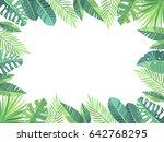 vector illustration. green... | Shutterstock .eps vector #642768295
