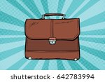 Business Leather Briefcase. Pop ...