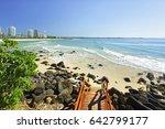 coolangatta beach on a...   Shutterstock . vector #642799177