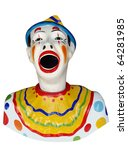 Carnival Feed The Clown Figure...