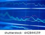 stock exchange market graph