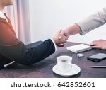 Handshake To Seal A Deal After...