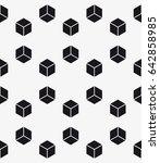 vector seamless pattern. modern ... | Shutterstock .eps vector #642858985