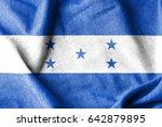 honduras cotton flag | Shutterstock . vector #642879895
