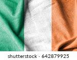 ireland cotton flag | Shutterstock . vector #642879925
