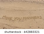 "handwriting  words ""mine you... 