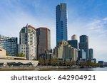 beautiful cityscape of... | Shutterstock . vector #642904921