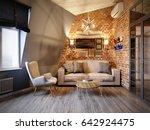 urban contemporary modern...   Shutterstock . vector #642924475