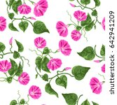 seamless cute pattern with... | Shutterstock .eps vector #642941209
