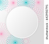 vector background with white... | Shutterstock .eps vector #642950791