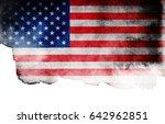 flag of usa | Shutterstock . vector #642962851