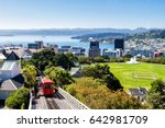 wellington cable car  new... | Shutterstock . vector #642981709