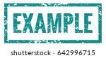 example stamp vector eps 10... | Shutterstock .eps vector #642996715