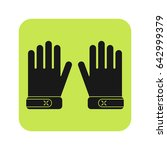 protective gloves  working... | Shutterstock .eps vector #642999379