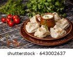 National Uzbek Dishes Manti On...