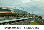 airport madeira cristiano... | Shutterstock . vector #643003459