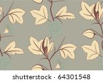 floral pattern. seamless | Shutterstock .eps vector #64301548