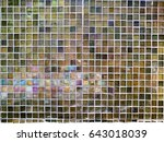 Mosaic Textures Background