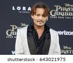 johnny depp at the u.s.... | Shutterstock . vector #643021975