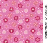 Seamless Flower Texture For...