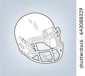 sketch vector illustration of... | Shutterstock .eps vector #643088329