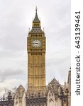 Historic Big Ben Tower With Ol...