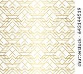 golden texture. seamless... | Shutterstock .eps vector #643144519