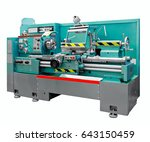 lathe machine | Shutterstock . vector #643150459