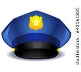 vector illustration of a blue... | Shutterstock .eps vector #643161835