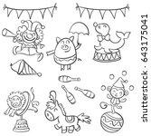 element object circus design... | Shutterstock .eps vector #643175041