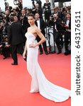 cannes  france   may 18  ... | Shutterstock . vector #643176511