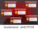 illustration of radar detection ...   Shutterstock .eps vector #643179739