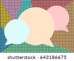 modern design circle template.... | Shutterstock .eps vector #643186675
