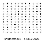 general icon collection | Shutterstock .eps vector #643192021