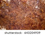 rust on steel | Shutterstock . vector #643204939