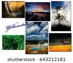 Yellowstone National Park Images Montage - Fine Art prints