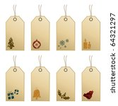 Collection Of Decorative Tags...