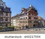 albrecht duerer house ... | Shutterstock . vector #643217554